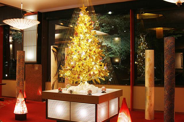 山中温泉・吉祥やまなか「加賀クリスマスツリー」