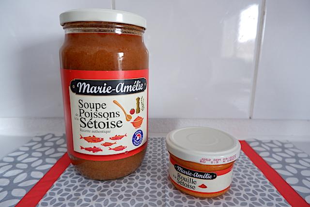 温めるだけでOK、缶詰やビン入りのスープ・ド・ポワソン