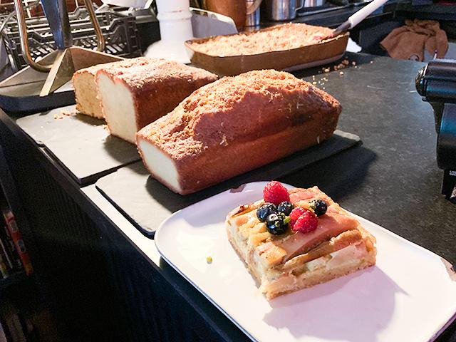 パウンドケーキが美味しそう!