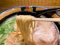 プチプチとした食感が気持ちい特製生麺