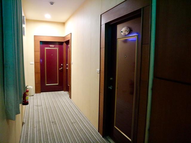 青池人文温泉旅店 廊下
