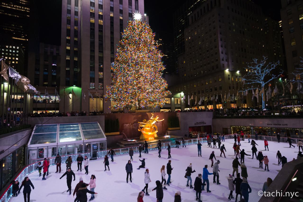 Rockefeller Center スケートリンク