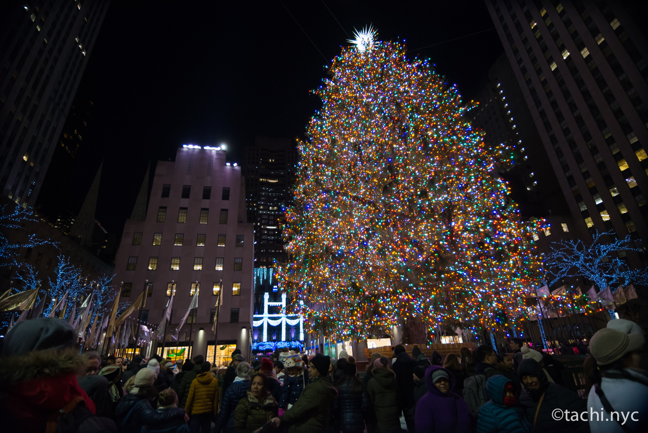 Rockefeller Center クリスマスツリー