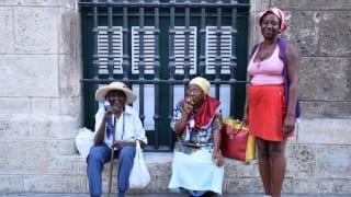 キューバ女性