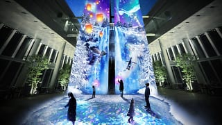 あべのハルカス「CITY LIGHT FANTASIA BY NAKED -Crystal World-」