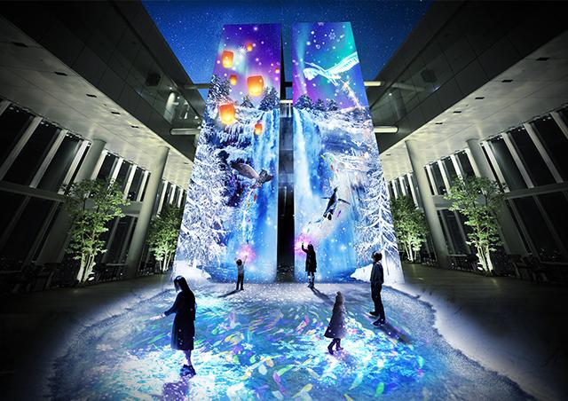 あべのハルカス「CITY LIGHT FANTASIA BY NAKED -Crystal World-」