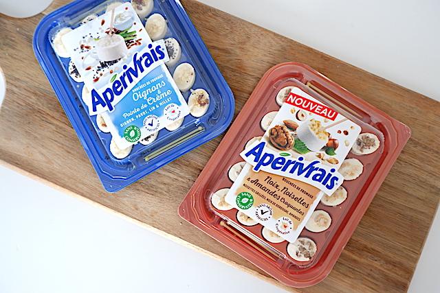アペリティフ用チーズの一例