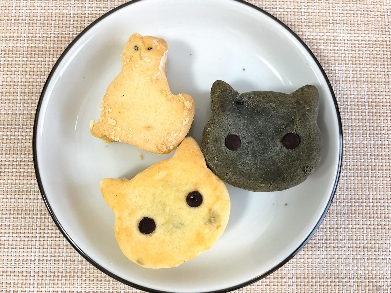 猫型パイナップルケーキ5