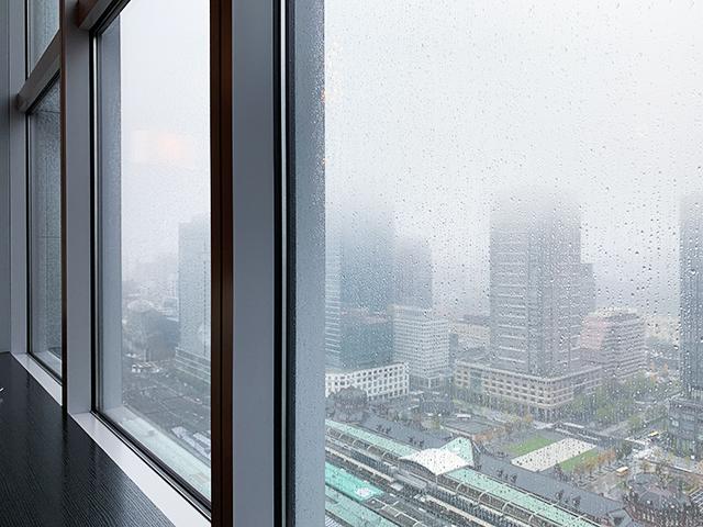 天気が良ければ富士山が見えることも