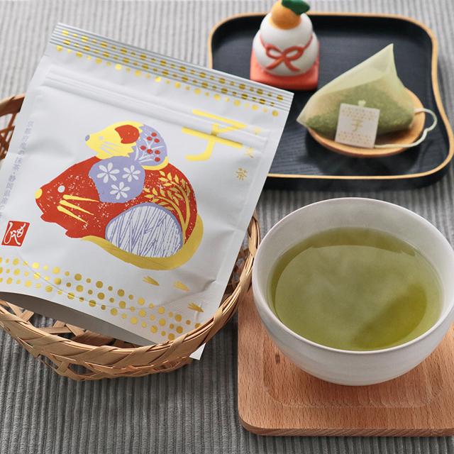 カルディコーヒーファーム「もへじ干支茶 子(2g x 5個入り)」