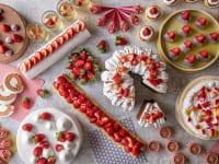 ヒルトン小田原リゾート&スパ「いちごだらけのデザートビュッフェ~Very Berry Strawberries~」