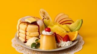奇跡のパンケーキ プリンアラモード