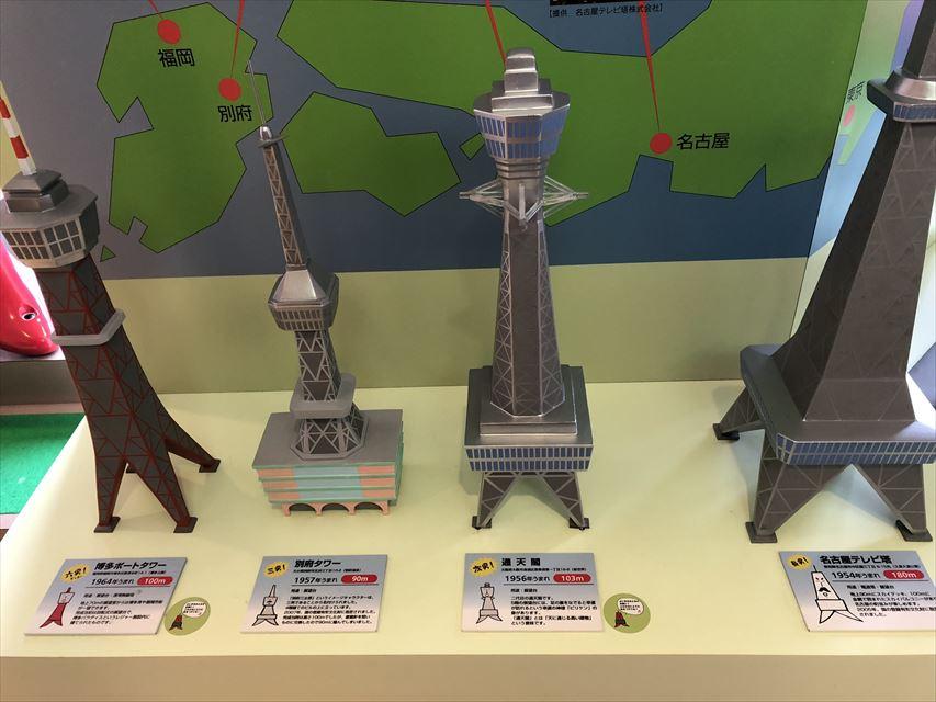 さっぽろテレビ塔、東京タワー、通天閣、名古屋のテレビ塔の設計者は同じ