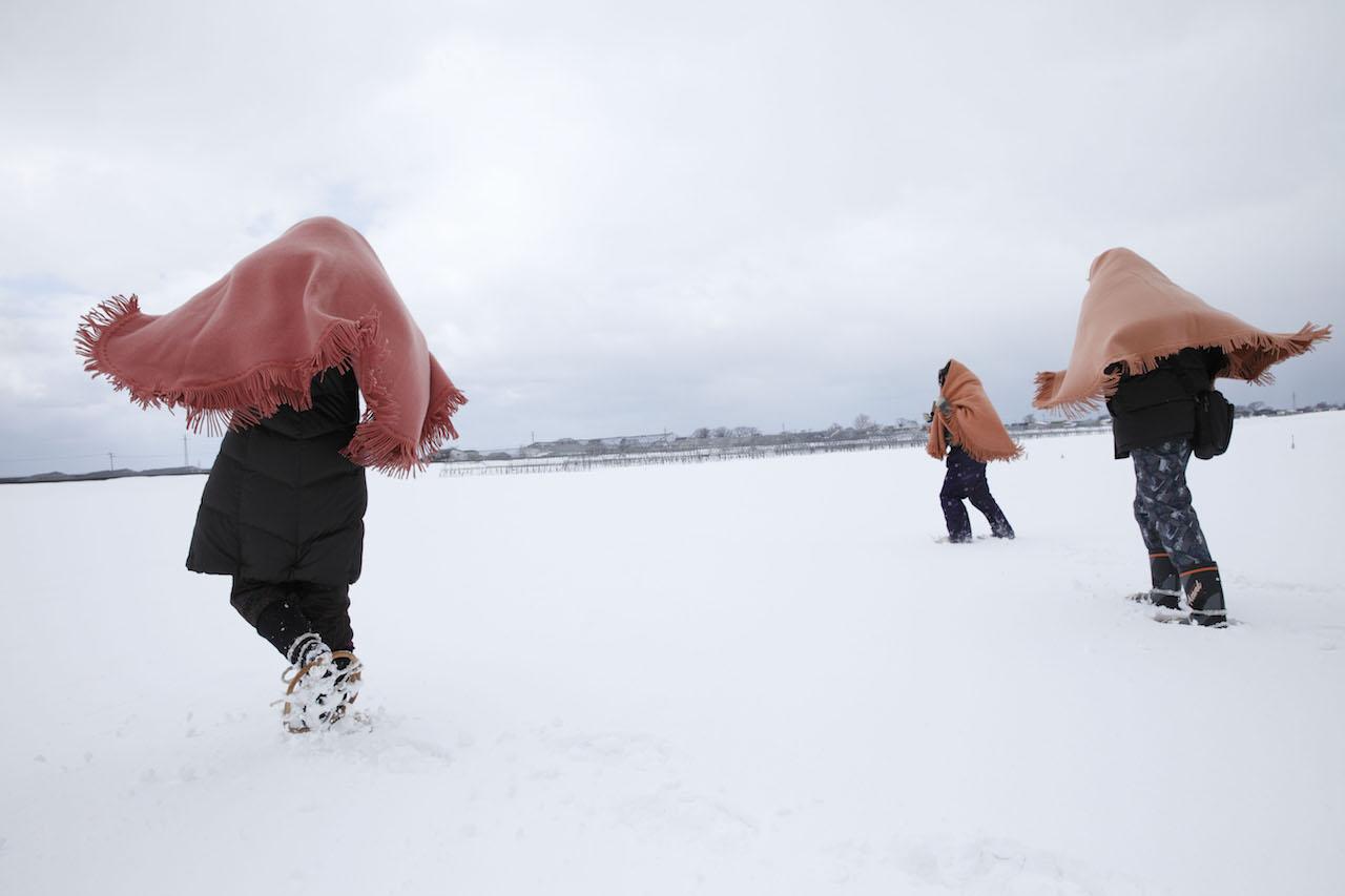 雪国地吹雪体験 五所川原市