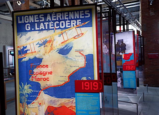1919年には、北アフリカまで配達距離を拡張