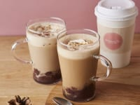 アフタヌーンティー・ラブアンドテーブル「あずきミルクティー」「あずきミルクコーヒー」
