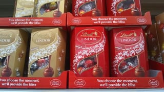 リンツ・リンドールのチョコレート