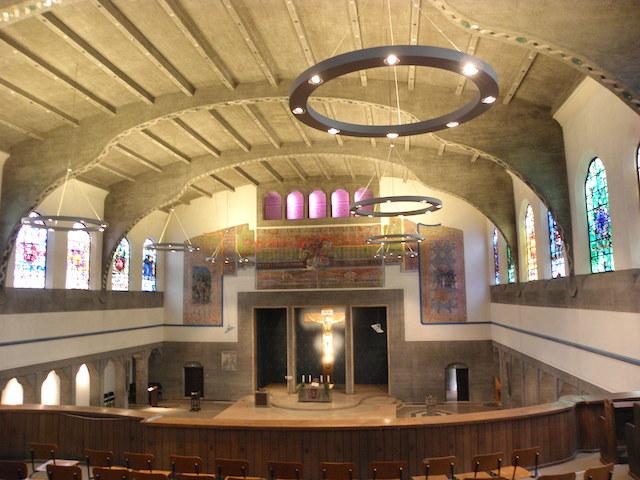 パウルス教会内部2