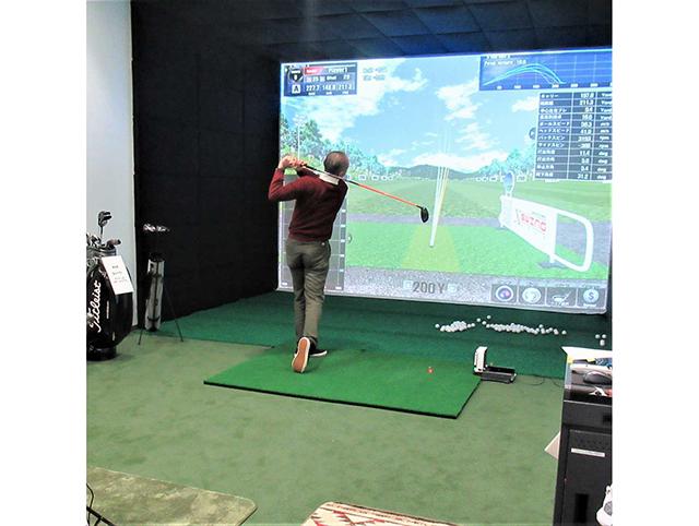 成田空港温泉空の湯「シミュレーションゴルフ」