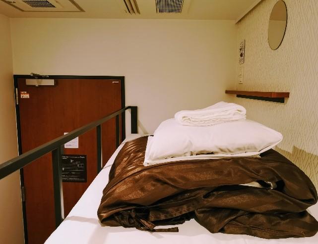 WeBase京都 個室2段ベッド