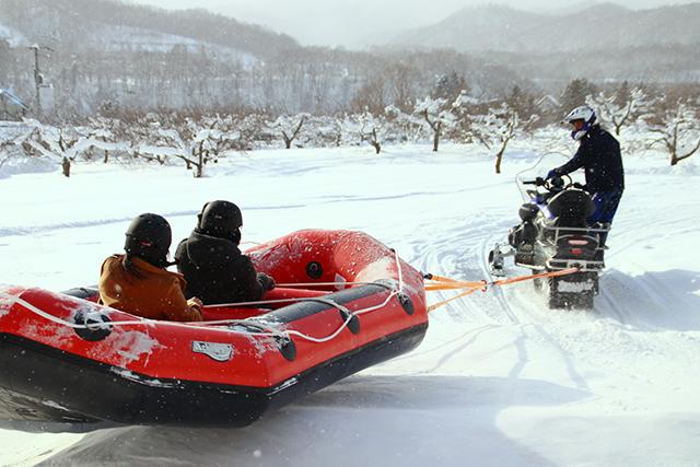 定山渓雪三舞イベント