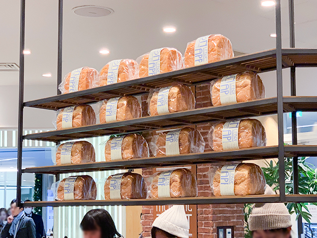 「LeBRESSO BREAD」のトーストをいただけますよ