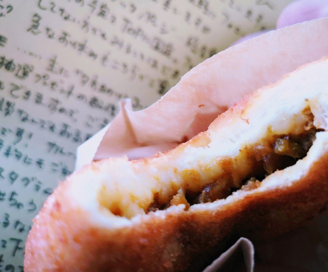 おやつ+ブレッドちぃのパン カレーパン