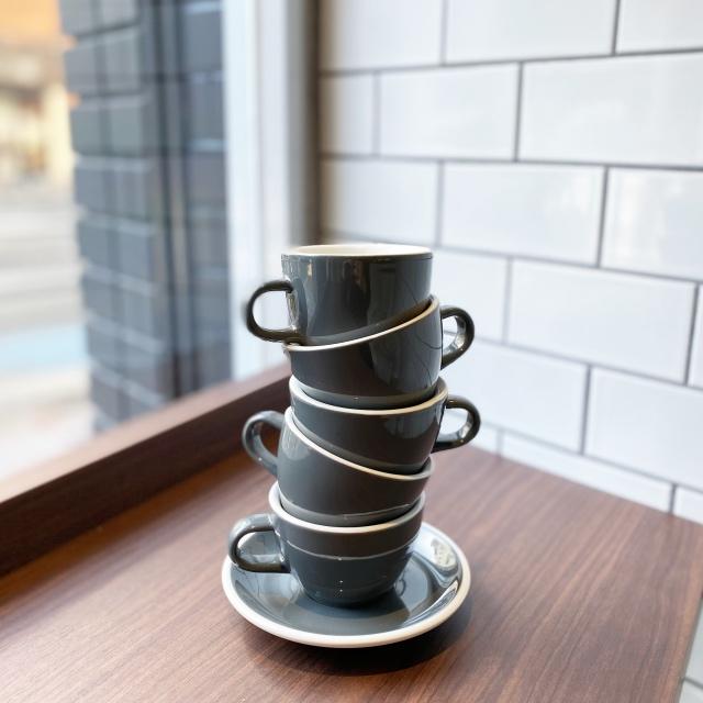 コーヒーカップも現地と同じもの