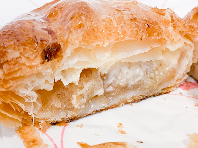 程よい酸味のあるりんごと甘いカスタードクリームの組み合わせはぴったり!
