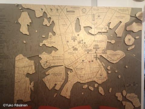 ヘルシンキのマップ
