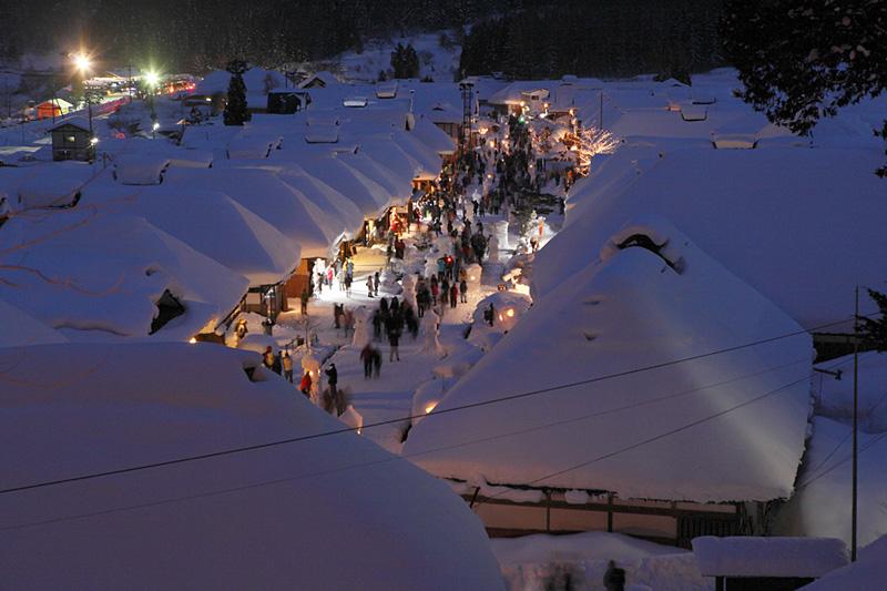 大内雪まつり