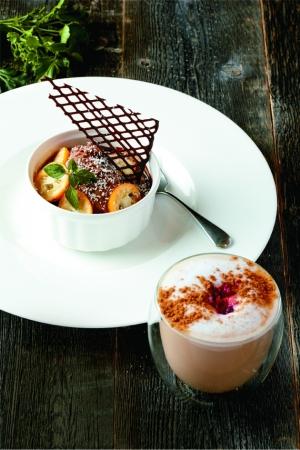 ミッドタウン ビルボード カフェ チョコレート