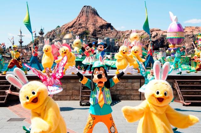 ヘンテコ楽しい春の東京ディズニーシー(R)!ダッフィーの新しいお友達も登場