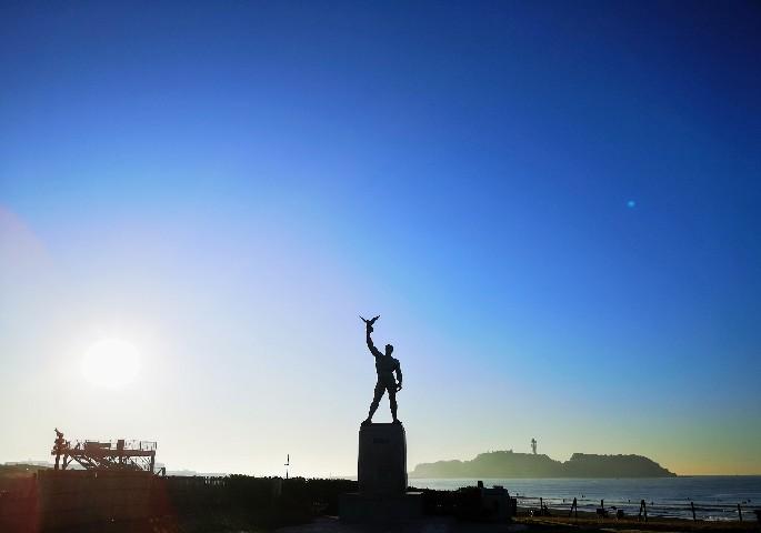 神奈川県立湘南海岸公園 平和の像