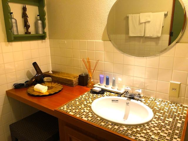 リゾートホテル コルテラルゴ伊豆高原 バスルーム