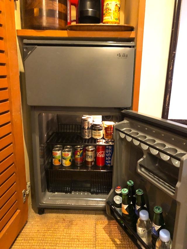 リゾートホテル コルテラルゴ伊豆高原 冷蔵庫