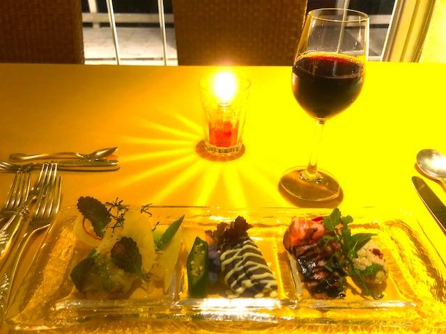 リゾートホテル コルテラルゴ伊豆高原 ディナー