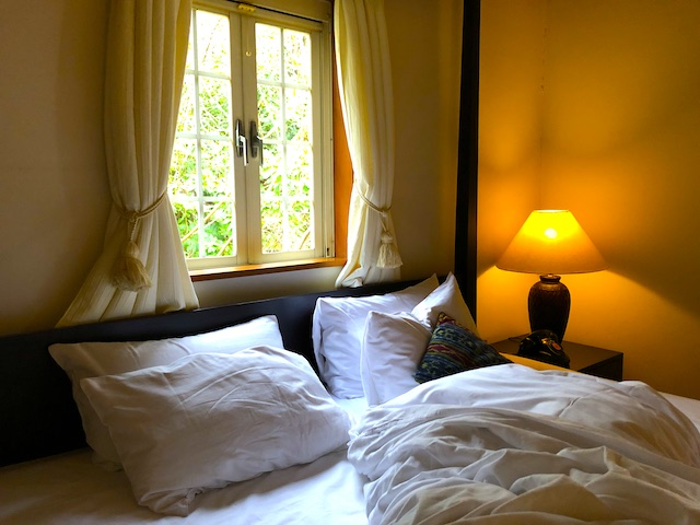 リゾートホテル コルテラルゴ伊豆高原 寝室