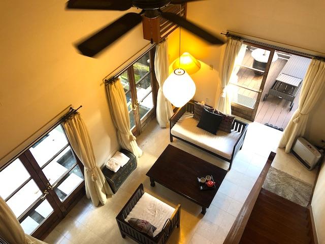 リゾートホテル コルテラルゴ伊豆高原 2階から全景