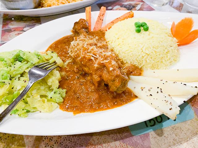 「モルガ」は雄鶏のこと。なかなか食べられない貴重な料理なのです!