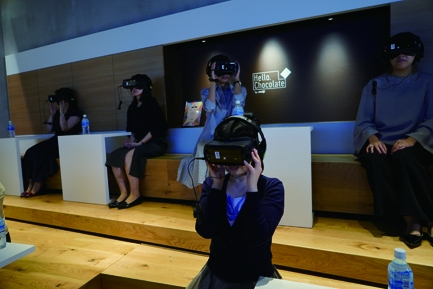銀座三越 VR
