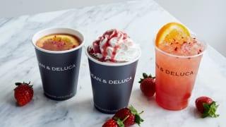 DEAN & DELUCA CAFÉドリンク
