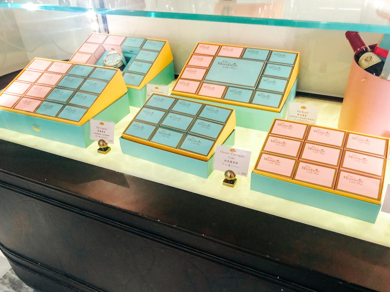 The Mandarin Cake Shop店内1