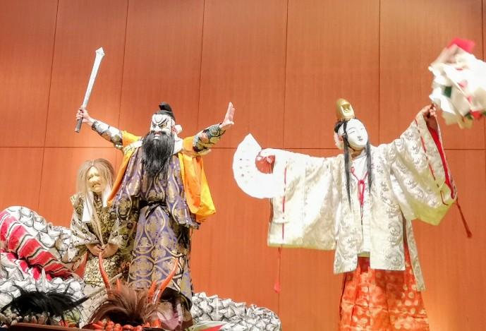 石見神楽 須佐之男命と稲田姫