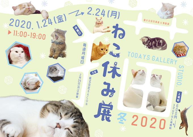 猫やすみポスター