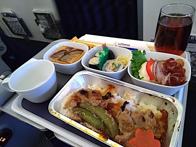 ルフトハンザドイツ航空、2020年2月の機内食