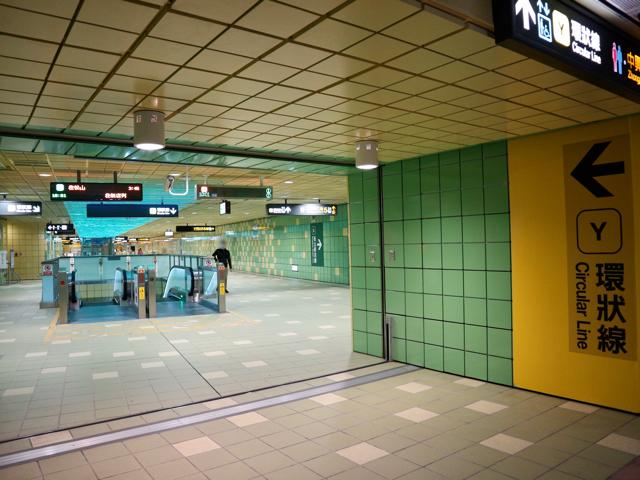 MRT大坪林駅