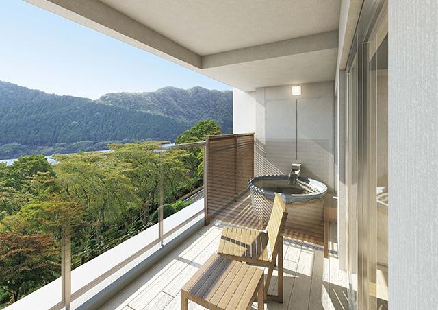 Relux厳選「露天風呂付客室のある人気の宿泊施設」箱根・芦ノ湖 はなをり
