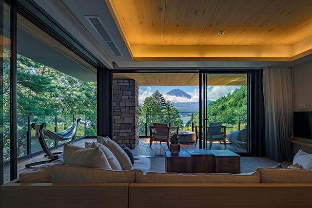Relux厳選「露天風呂付客室のある人気の宿泊施設」ふふ 河口湖