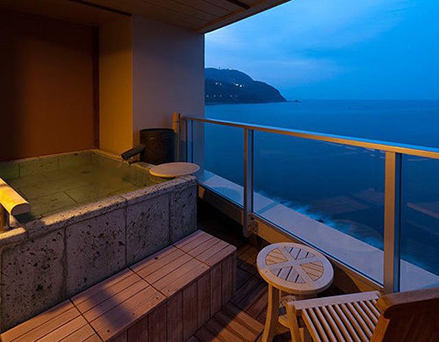 Relux厳選「露天風呂付客室のある人気の宿泊施設」食べるお宿 浜の湯